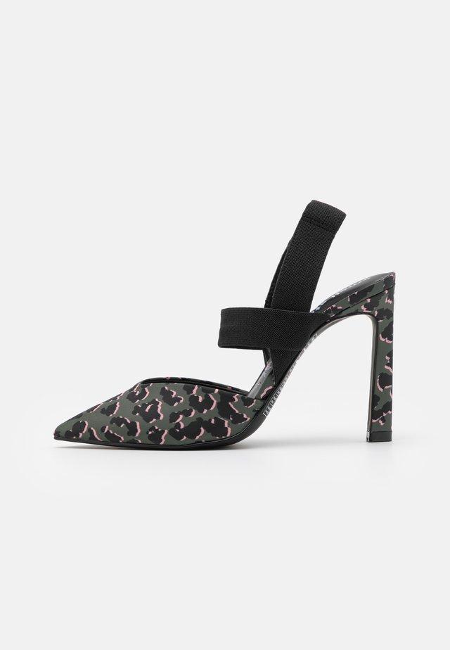 BLOSSOM - Zapatos altos - khaki