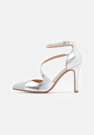 Klassiska pumps - silver