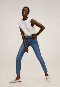 Mango - ISA - Jeans Skinny Fit - middenblauw - 0