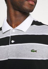 Lacoste - Polo shirt - argent/noir/blanc - 5
