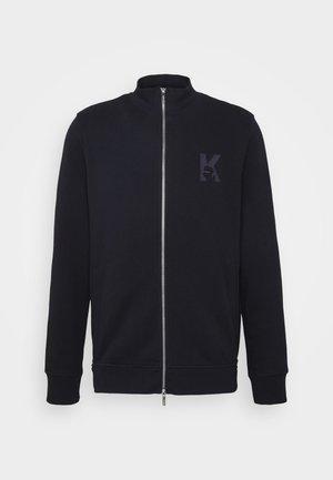 ZIP JACKET - Zip-up hoodie - navy