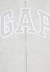 GAP Petite - Bluza rozpinana - light heather grey - 2