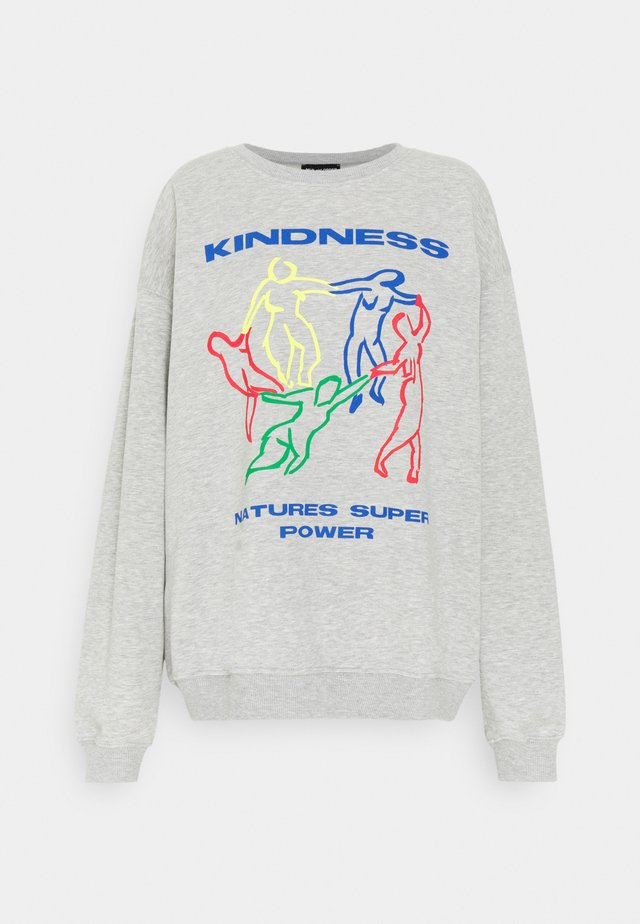 KINDNESS - Sweater - grey