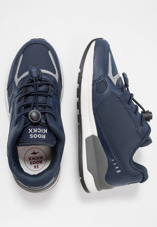 ROOKI - Trainers - navy/grey