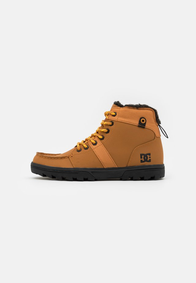 WOODLAND - High-top trainers - wheat