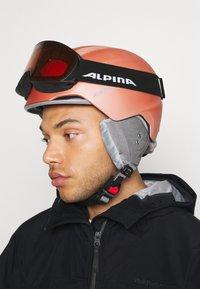 Alpina - NAKISKA UNISEX - Lyžařské brýle - black - 1