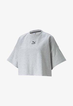 T-shirt basic - light gray heather