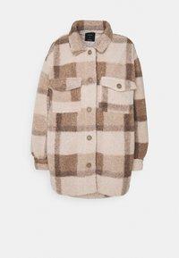 COSY CABIN SHACKET - Short coat - natural