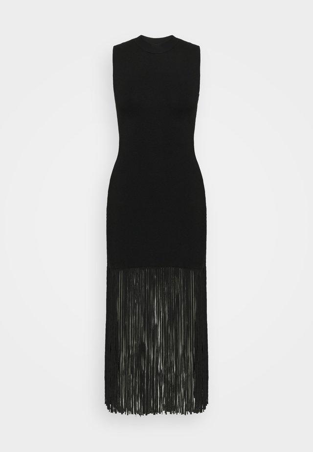 Gebreide jurk - noir