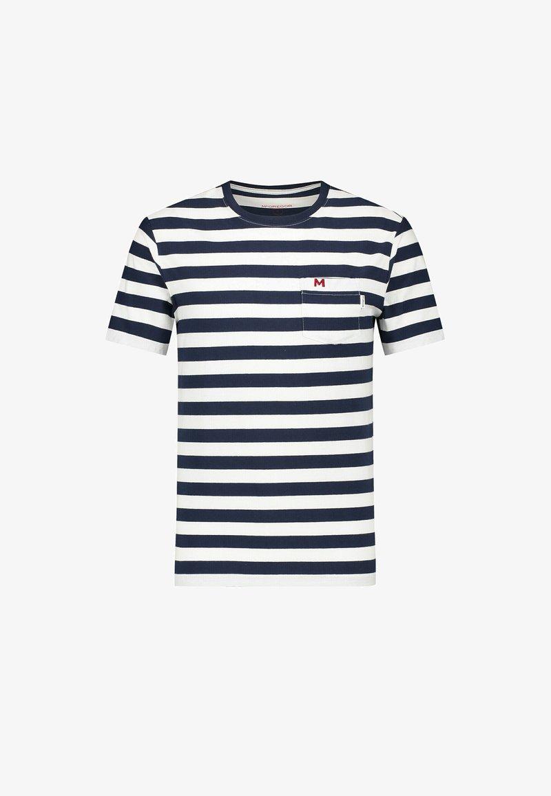 McGregor - Print T-shirt - bright navy