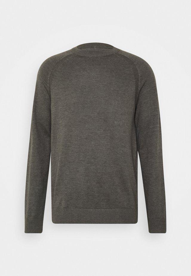 O NECK - Maglione - grey melange