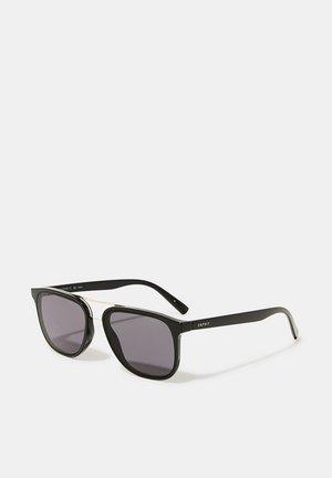 SONNENBRILLE MIT METAL-STEG - Sunglasses - black