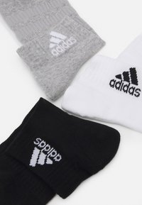 adidas Performance - CUSH ANK UNISEX 6 PACK - Sports socks - medium grey heather/white - 1