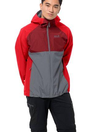 MOUNT ISA  - Regenjacke / wasserabweisende Jacke - fiery red
