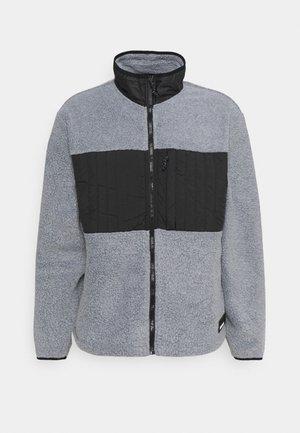 JACKET UNISEX - Fleece jacket - heather grey