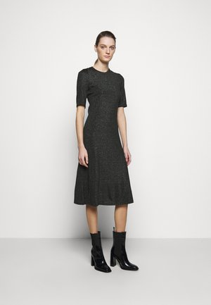 DETA - Jersey dress - black/green