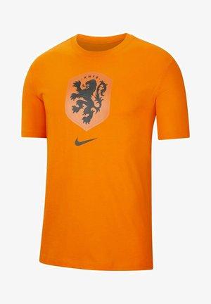 NIEDERLANDE - T-shirt print - safety orange