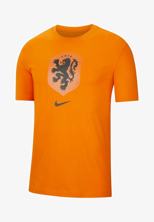 NIEDERLANDE - T-shirt print - safety orange