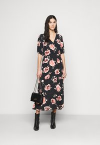 PIECES Tall - PCRIMMA LONG DRESS  - Maxi dress - black - 1
