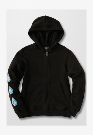 ICONIC STONE - Zip-up sweatshirt - black