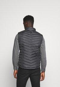 TOM TAILOR - Waistcoat - grey melange design - 2