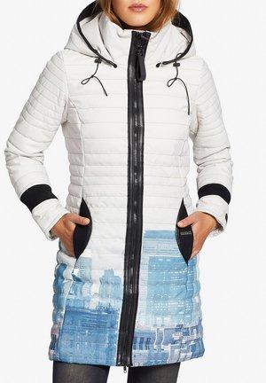 DAILY2 - Winter coat - blue/ white
