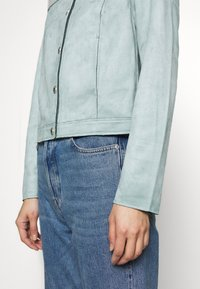 comma - JACKET - Faux leather jacket - smokey blue - 4