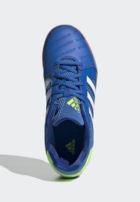 adidas Performance - TOP SALA UNISEX - Indoor football boots - globlue/white/royalblue - 2