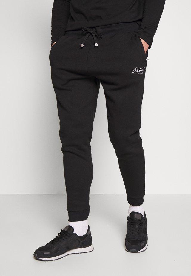 METISSIER VENLO JOGGERS - Pantalones deportivos - black