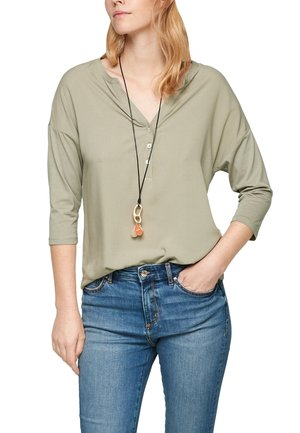 MANCHES 3/4 - Long sleeved top - khaki