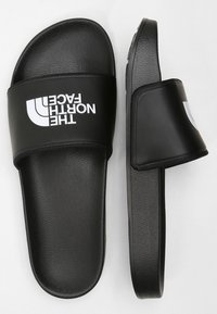 The North Face - BASE CAMP SLIDE II - Pool slides - black/white - 1
