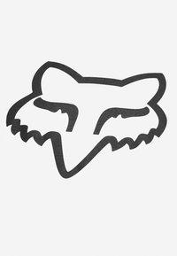 Fox Racing - LEGACY HEAD TEE - Printtipaita - white - 2