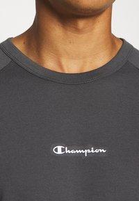 Champion - CREWNECK  - T-shirt sportiva - grey/black - 5