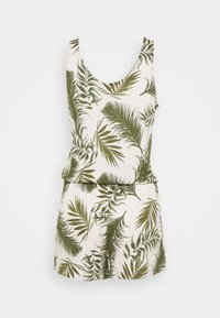 s.Oliver - OVARALL - Jumpsuit - green/white - 1