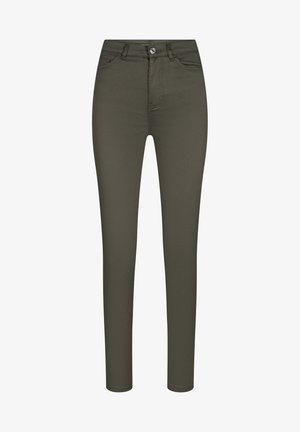 Jeans Skinny Fit - dunkles khaki