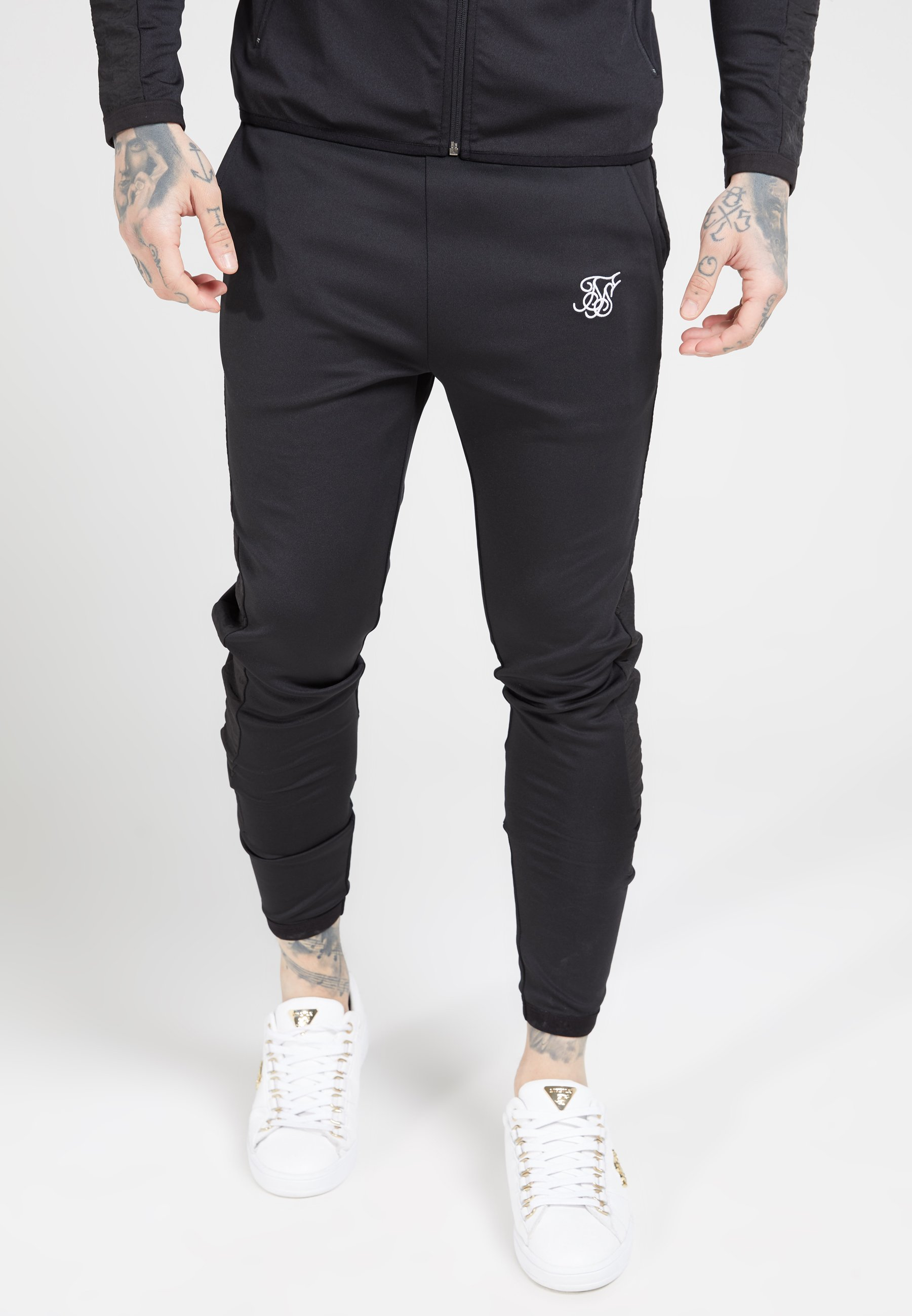 Men CREASED PANTS - Tracksuit bottoms