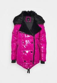 River Island - Winter jacket - dark pink - 1