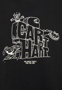 Carhartt WIP - STONEAGE - Printtipaita - black/white - 2