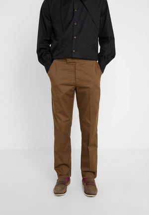 MENS TROUSERS - Pantaloni - beige