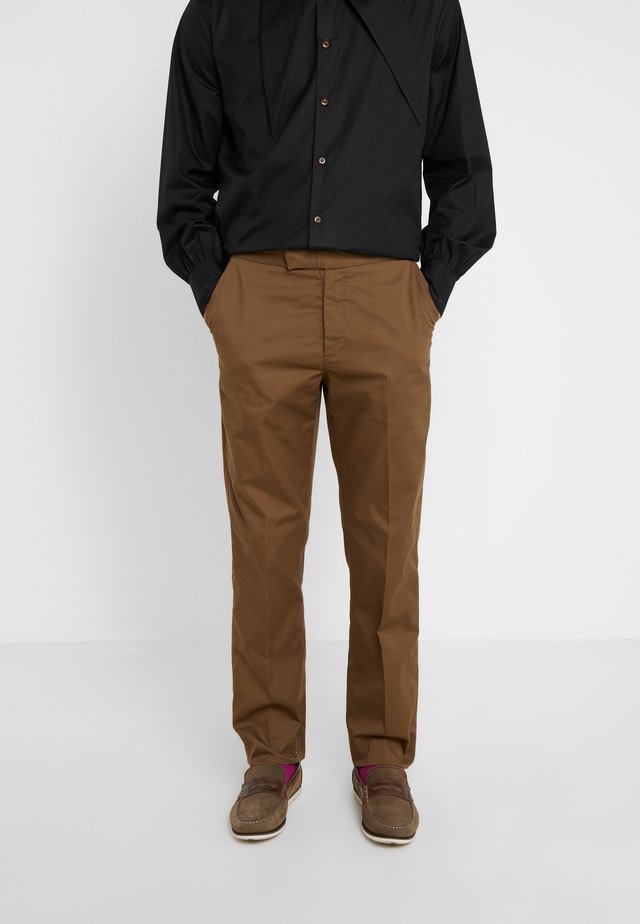 MENS TROUSERS - Pantaloni - beige