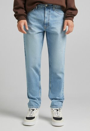 STRAIGHT VINTAGE - Relaxed fit jeans - blue denim