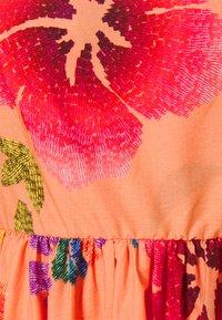 Farm Rio - FLORAL SEA MIDI DRESS - Day dress - multi coloured - 7