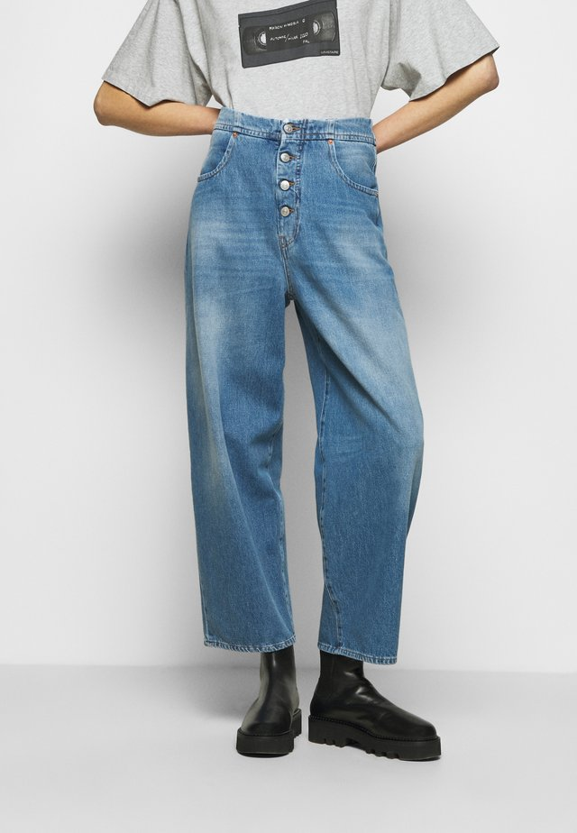 Jeansy Relaxed Fit - medium cast
