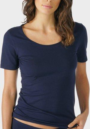 T-SHIRT SERIE COTTON PURE - Undershirt - night blue