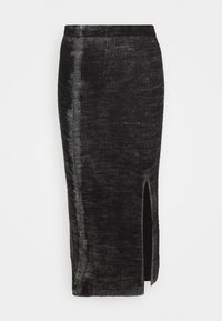 Diesel - ISLA SKIRT - Pencil skirt - grey - 0