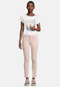 Cartoon - Slim fit jeans - dusty blush - 1