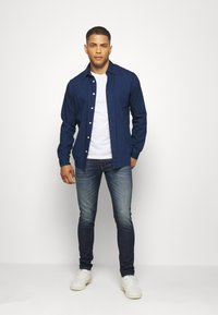 Diesel - D-STRUKT - Jean slim - dark-blue denim - 1