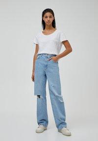 PULL&BEAR - Jeans straight leg - blue-grey - 1