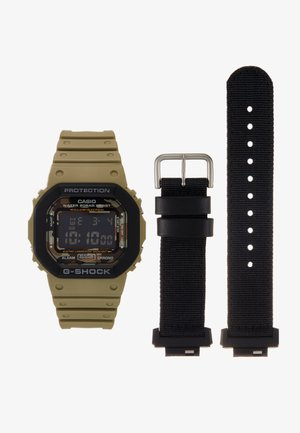 LAYERED BEZEL - Digitaal horloge - green