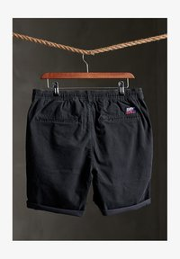 SUNSCORCHED - Shorts - washed black dogtooth